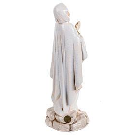 Madonna di Lourdes 30 cm Fontanini tipo porcellana s5