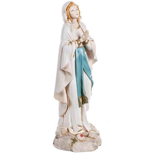 Madonna di Lourdes 30 cm Fontanini tipo porcellana 3