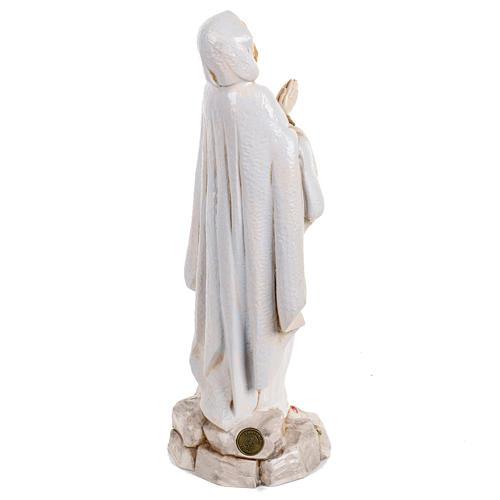 Madonna di Lourdes 30 cm Fontanini tipo porcellana 5