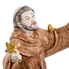 San Francesco d'Assisi 30 cm Fontanini tipo porcellana s3