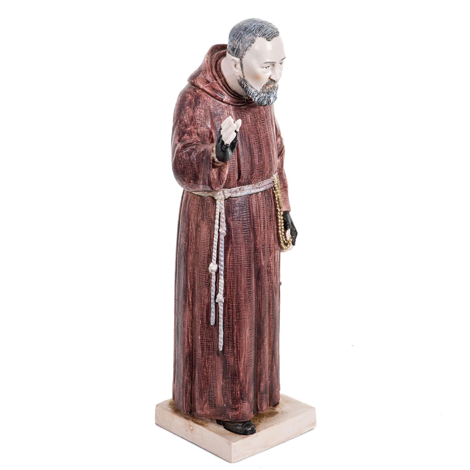 Padre Pio 30 cm Fontanini tipo porcellana 4