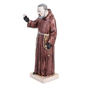 Padre Pio 30 cm Fontanini tipo porcellana s2