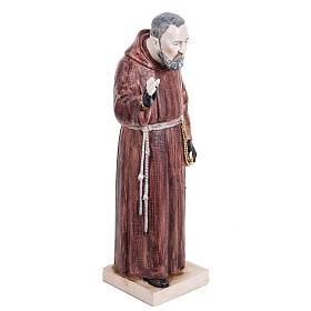 Padre Pio 30 cm Fontanini tipo porcellana s3
