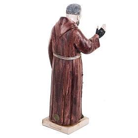 Padre Pio 30 cm Fontanini tipo porcellana s4