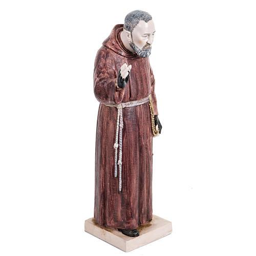 Padre Pio 30 cm Fontanini tipo porcellana 3