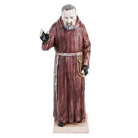 Imagens em Resina e PVC: Padre Pio 30 cm Fontanini efeito porcelana