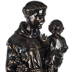 Statua Sant'Antonio 100 cm finitura bronzo Fontanini s3
