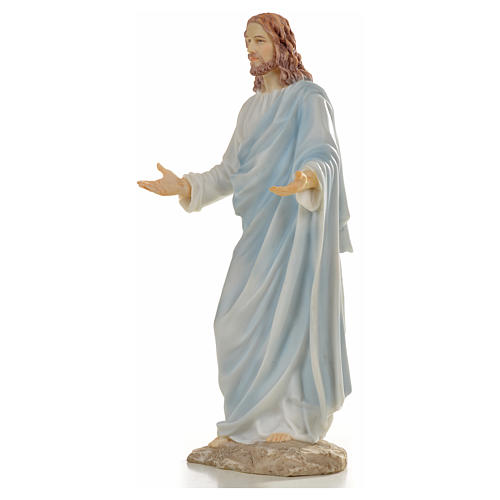Jesus statue in resin, 30cm 2
