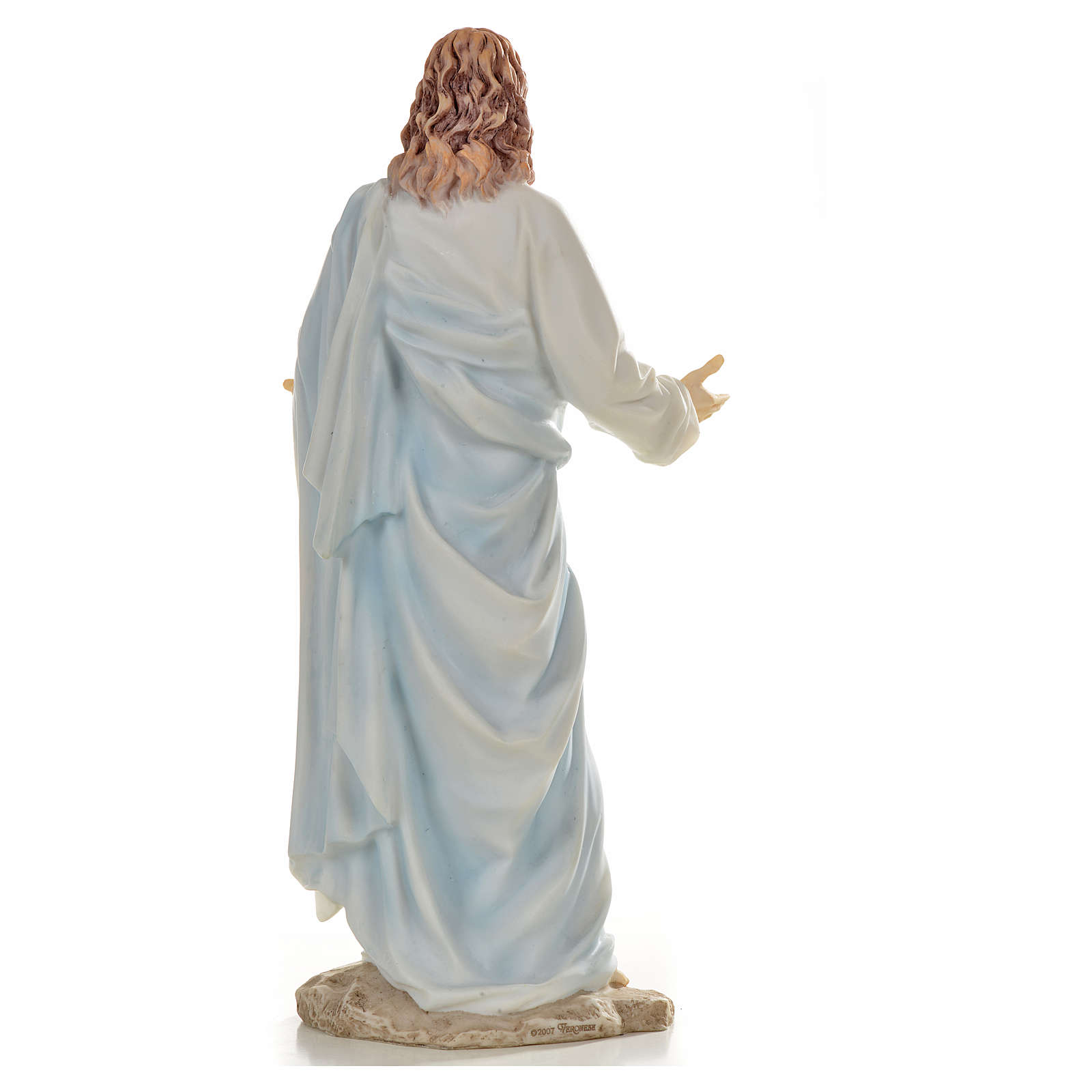 Jesus statue in resin, 30cm 4