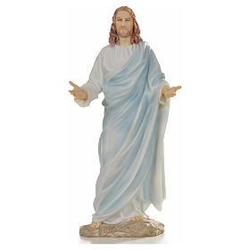 Jesus statue in resin, 30cm s1