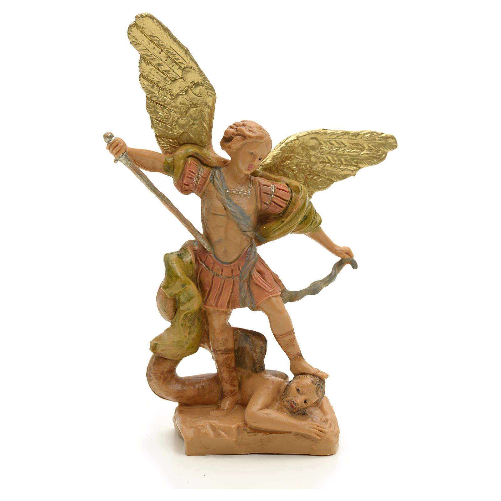 Statue Saint Michel Archange 7 cm Fontanini 4