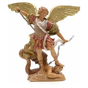 Statue Saint Michel 18 cm Fontanini s1