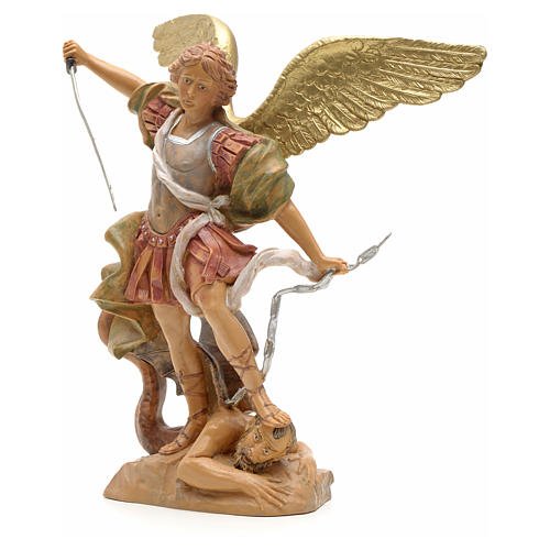 Statue Saint Michel 18 cm Fontanini 2