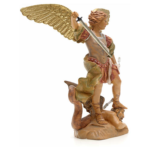 Statue Saint Michel 18 cm Fontanini 4
