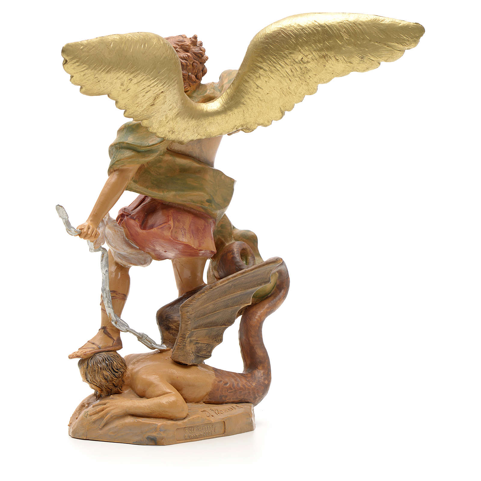 Statua San Michele 18 cm Fontanini 4