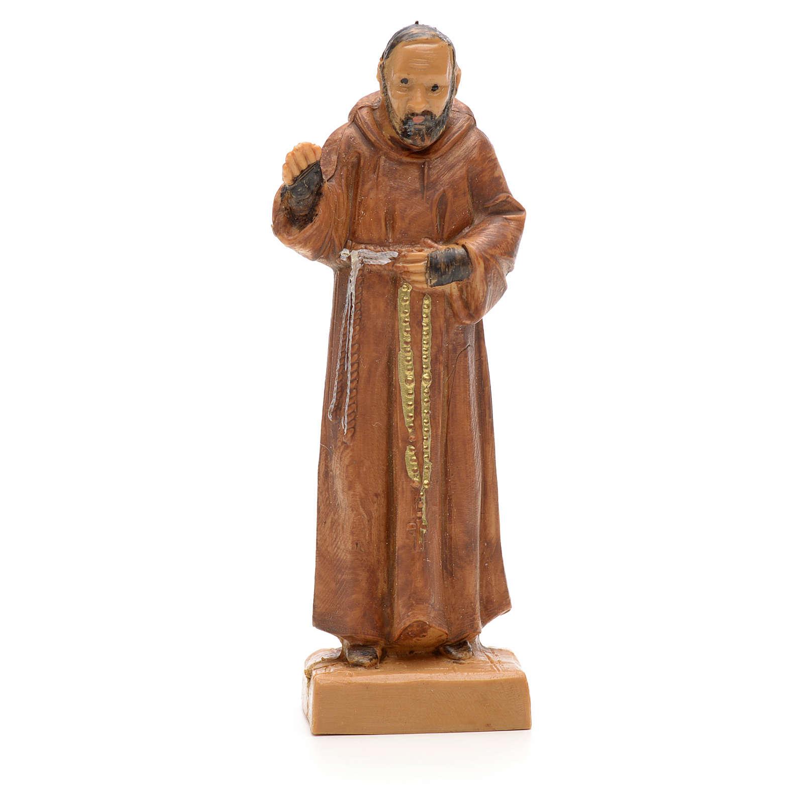 Père Pio de Pietralcina, statue 7 cm Fontanini 4