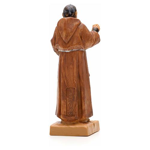 Père Pio de Pietralcina, statue 7 cm Fontanini 2