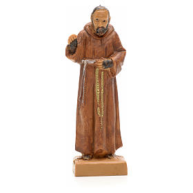 Imagens em Resina e PVC: Padre Pio 7 cm Fontanini