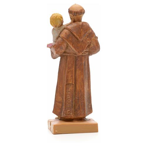 Saint Antoine et l'enfant Jésus statue 7cm Fontanini 2
