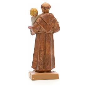 Sant'Antonio da Padova con bambino 7 cm Fontanini s2