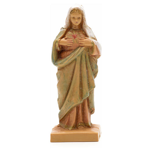 Sacré Coeur de la Vierge Marie statue 7 cm Fontanini 1