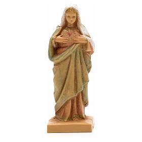 Imagens em Resina e PVC: Sagrado Coração de Maria 7 cm Fontanini