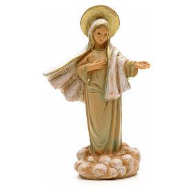 Statues en résine et PVC: Notre Dame de Medjugorie, statue 7 cm Fontanini