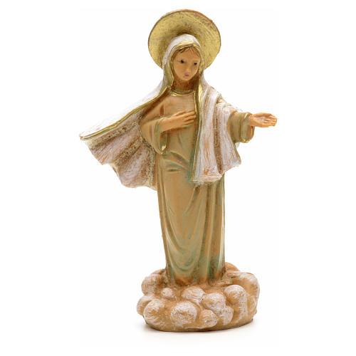 Madonna di Medjugorie 7 cm Fontanini 1