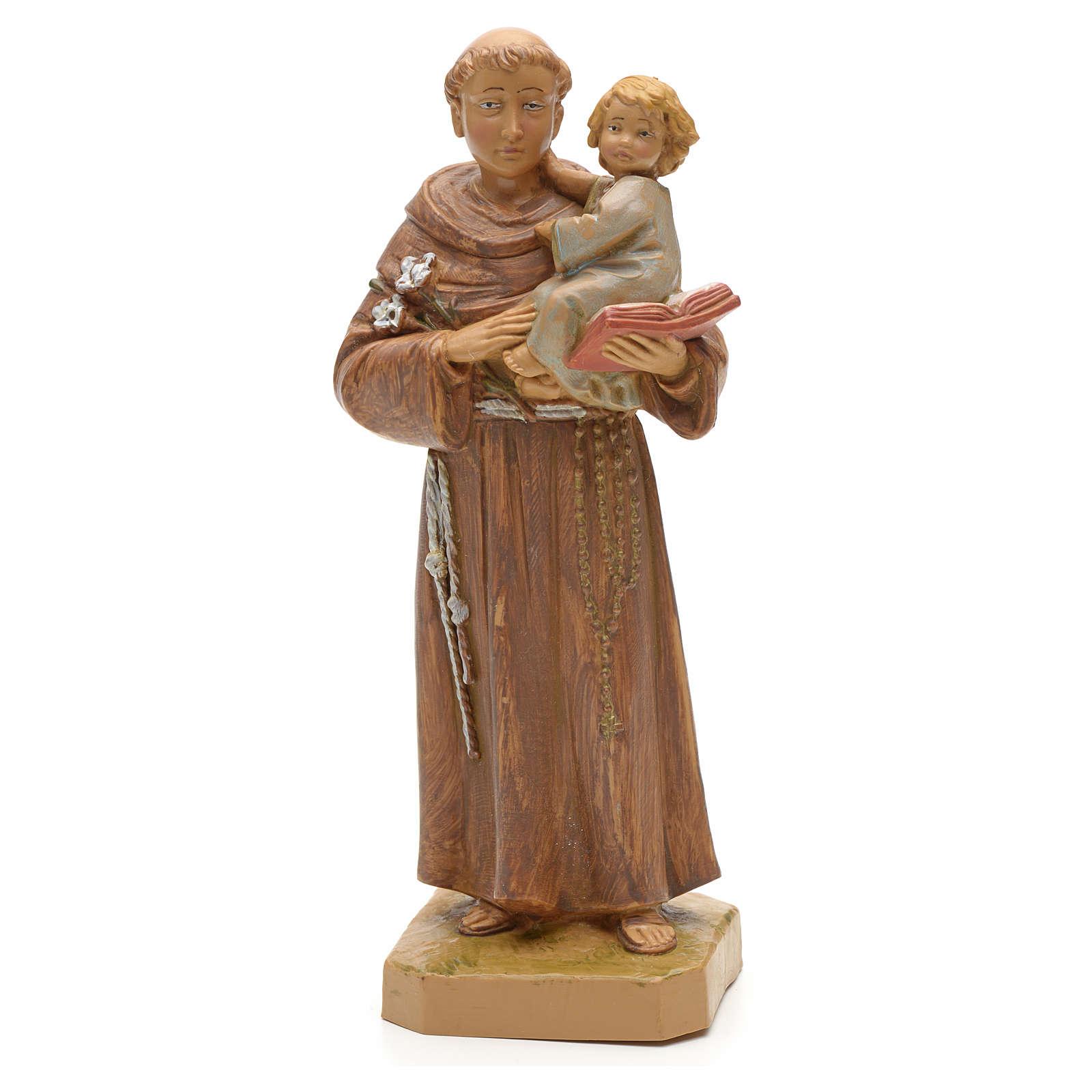 San Antonio de Padua con niño 18 cm Fontanini 4