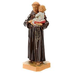San Antonio de Padua con niño 18 cm Fontanini