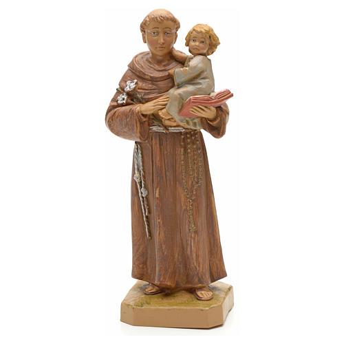 San Antonio de Padua con niño 18 cm Fontanini 1