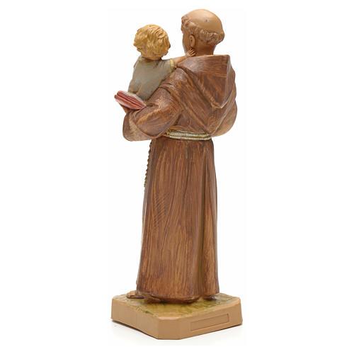St Antoine de Padoue à l'enfant 18 cm Fontanini 3