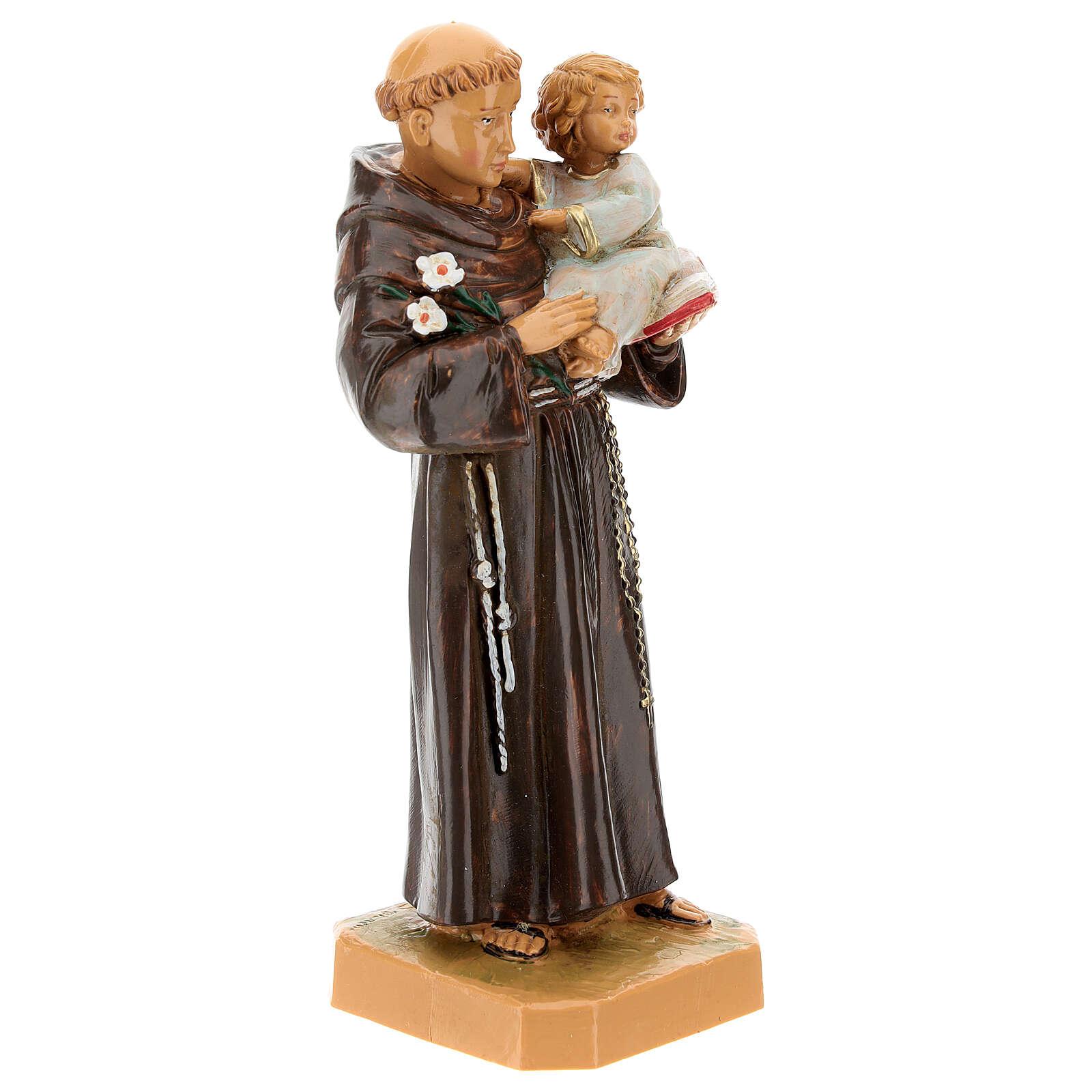 Św. Antoni z Padwy z Dzieciątkiem 18 cm Fontanini 4