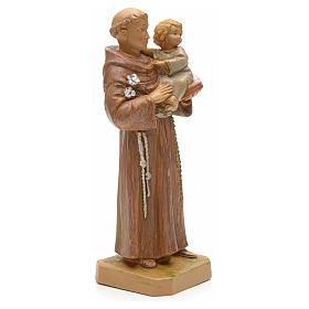 Imagem Santo António de Lisboa com Menino Jesus 18 cm Resina Fontanini s2