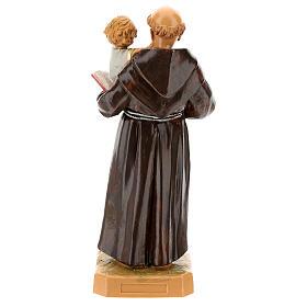 Imagem Santo António de Lisboa com Menino Jesus 18 cm Resina Fontanini s4