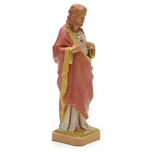 Statue Sacré Coeur 18 cm Fontanini 2