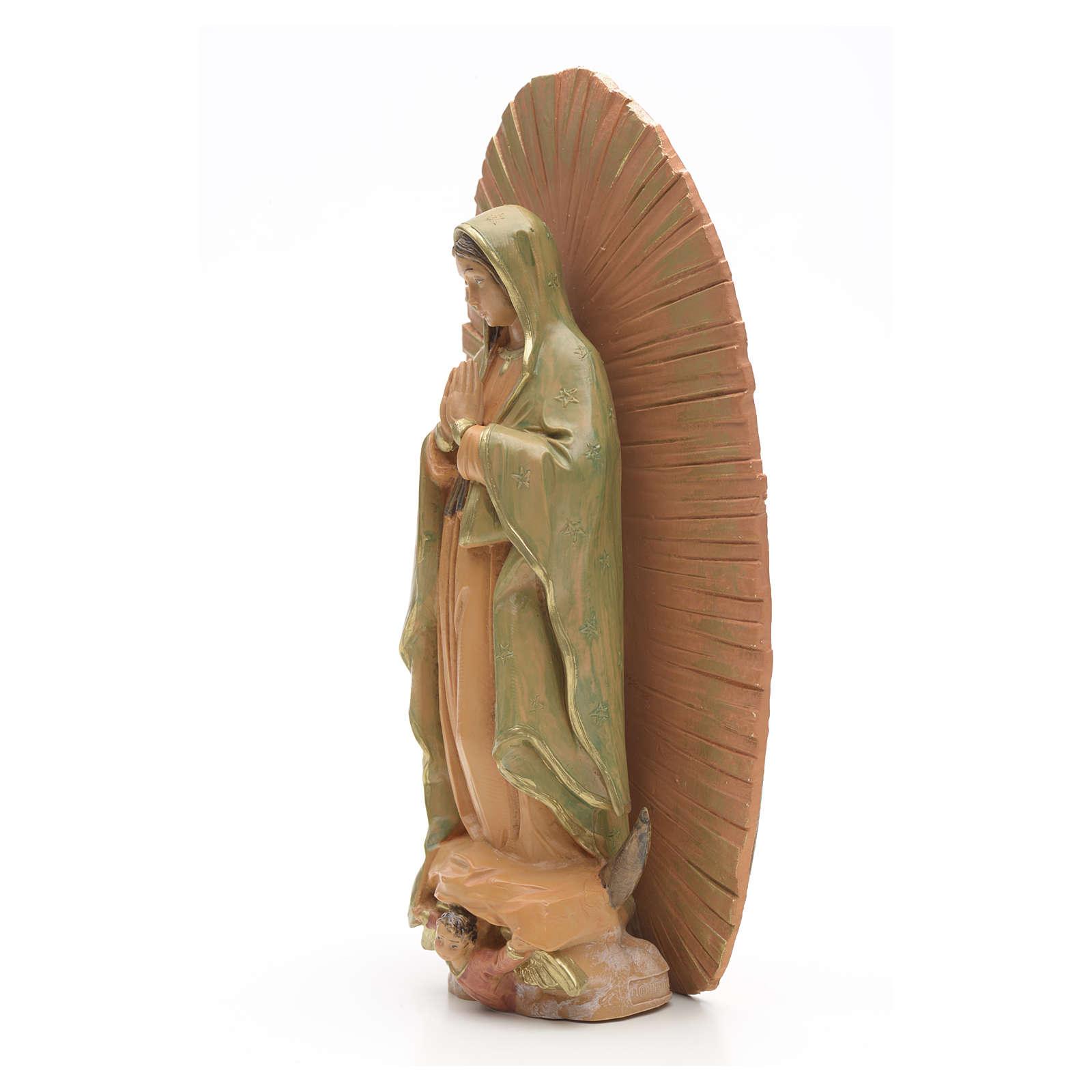 Statue Vierge de Guadalupe 18 cm Frontanini 4