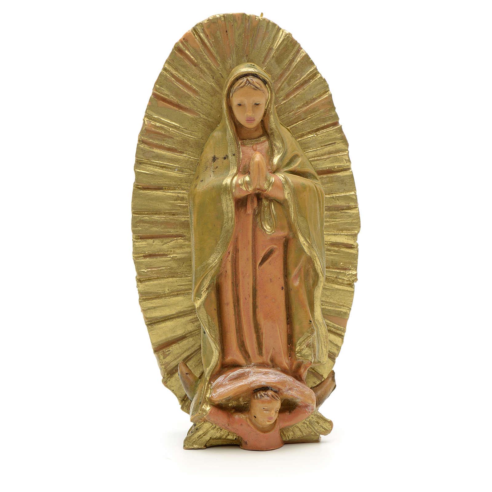Statue Notre Dame de Guadeloupe 7 cm Fontanini 4