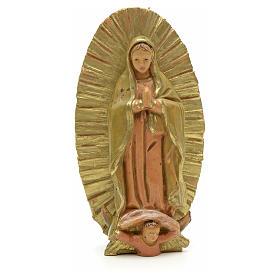 Statue Notre Dame de Guadeloupe 7 cm Fontanini s1
