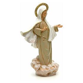Statue Gottesmutter von Medjugorje 18cm, Fontanini s4
