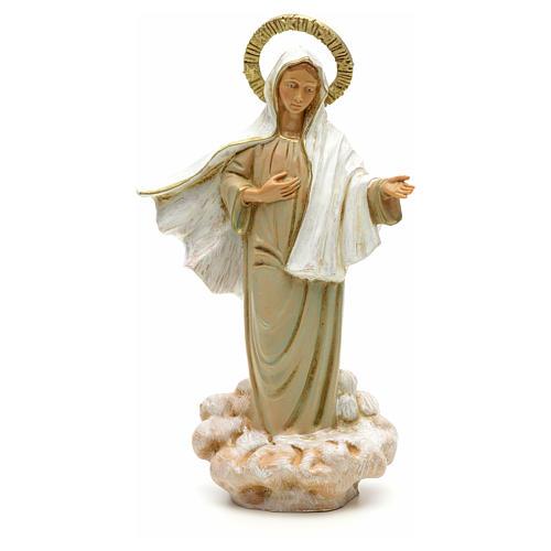 Statue Notre Dame de Medjugorje 18 cm Fontanini 1