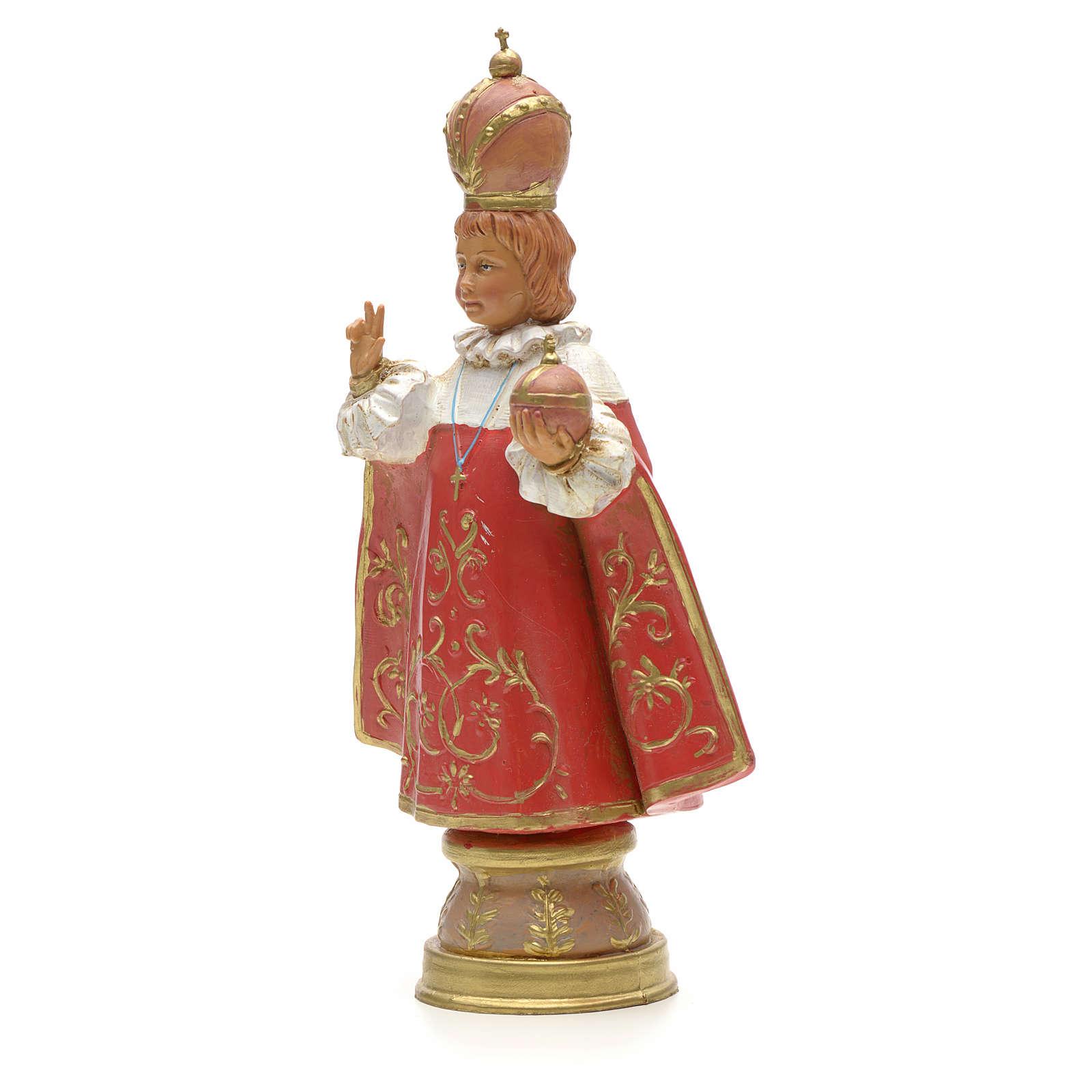 Enfant Jésus de Prague, statue Fontanini 18 cm 4