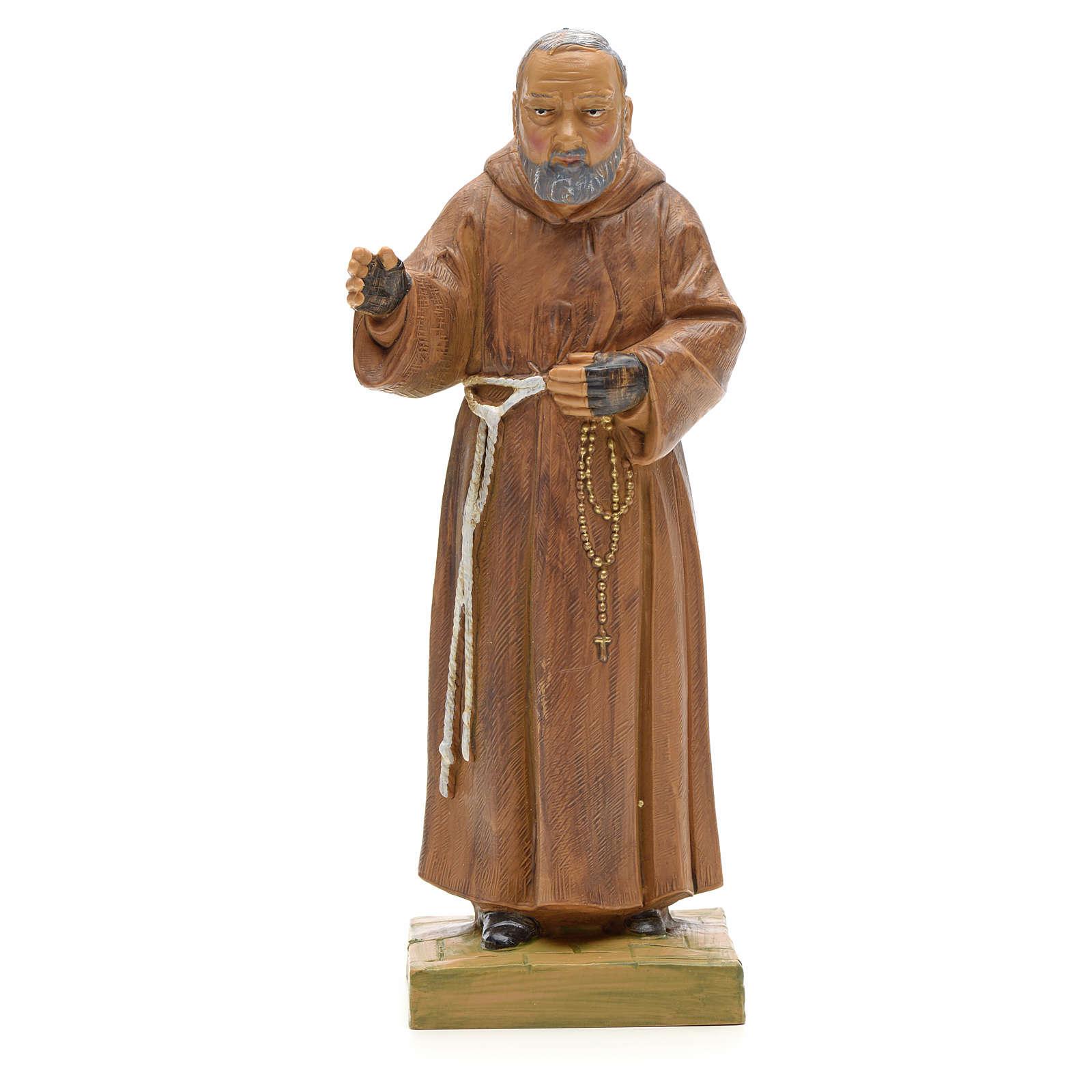 Père Pio statue 18 cm Fontanini 4