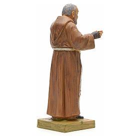 Père Pio statue 18 cm Fontanini s3