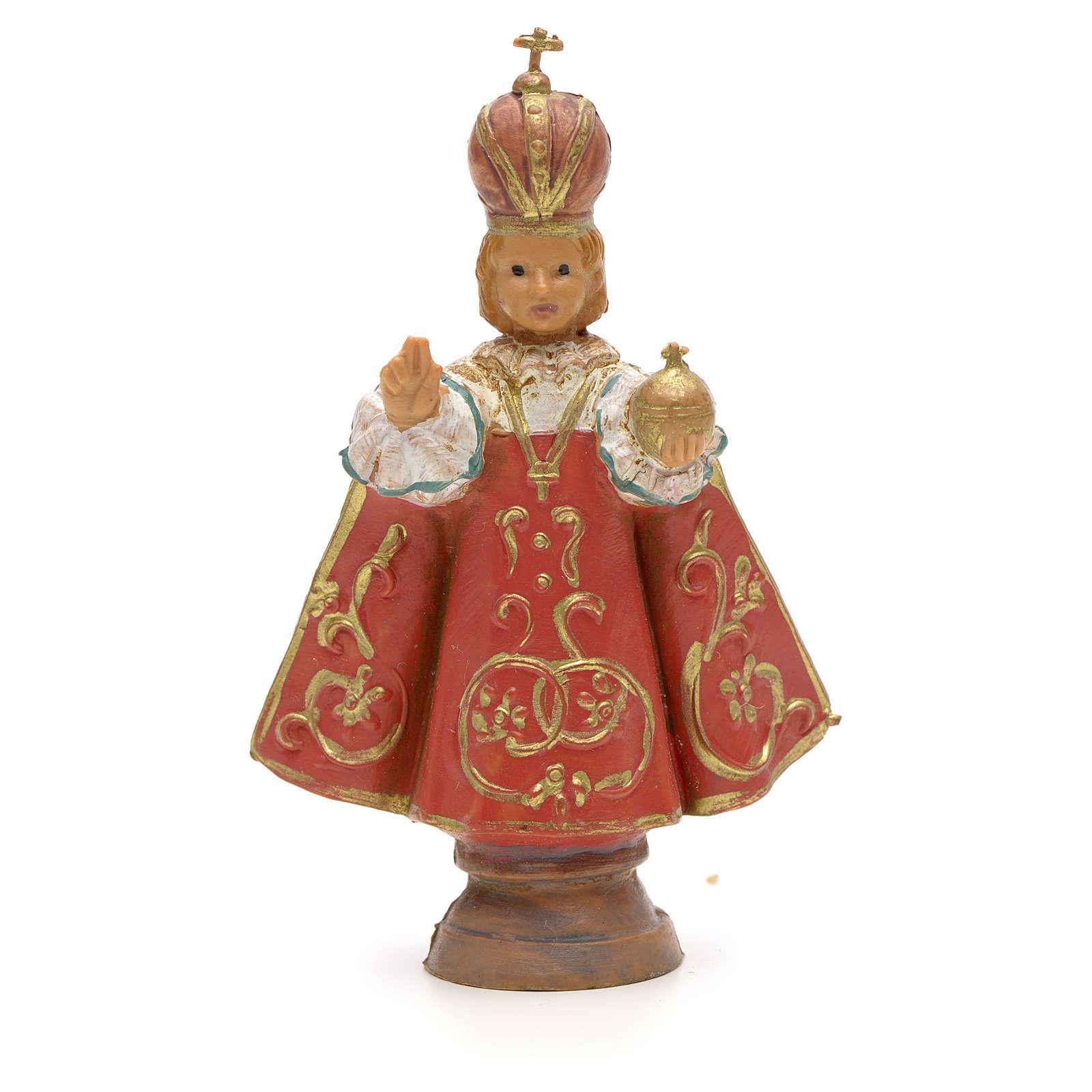 Enfant Jésus de Prague, statue 7 cm Fontanini 4
