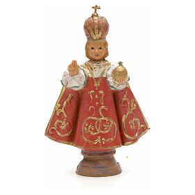 Enfant Jésus de Prague, statue 7 cm Fontanini s1