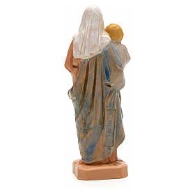 Statue Notre Dame à l'enfant 7 cm Fontanini s2