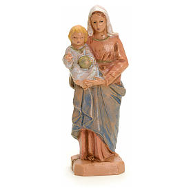 Statue Notre Dame à l'enfant 7 cm Fontanini s3