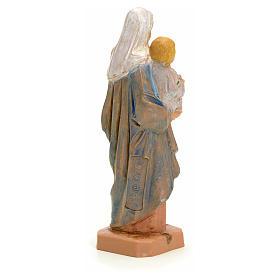 Statue Notre Dame à l'enfant 7 cm Fontanini s4