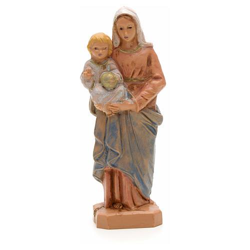 Statue Notre Dame à l'enfant 7 cm Fontanini 1